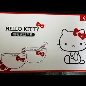 New Hello Kitty bowl set